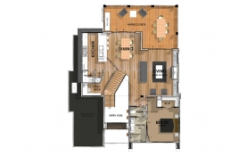 D25.3  Floor Plan - First Level