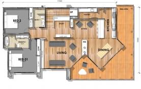D36 - Floor Plan - First Level