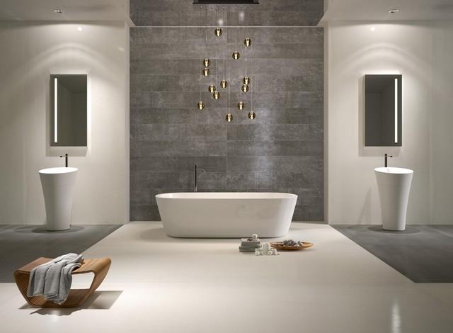 5 Grey palette bathroom