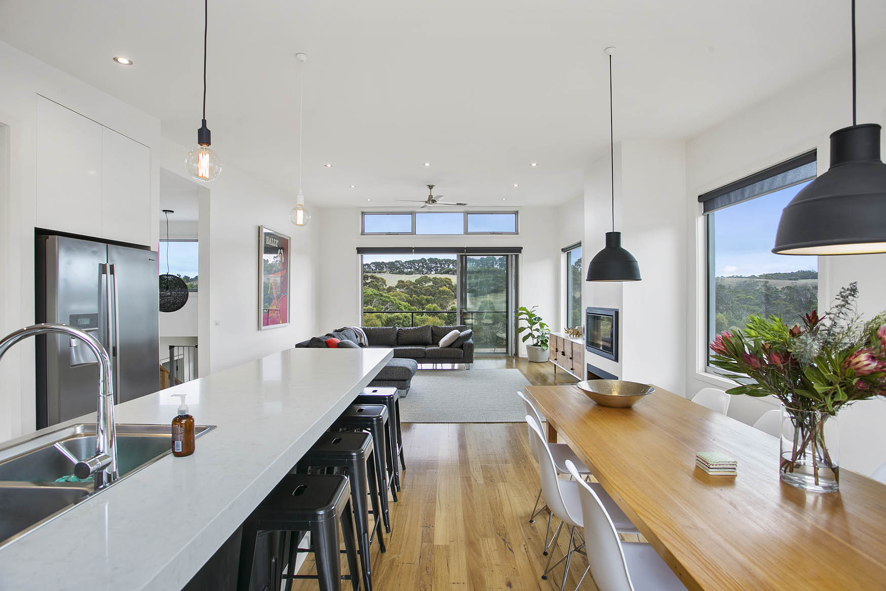 Sloping Block Designs