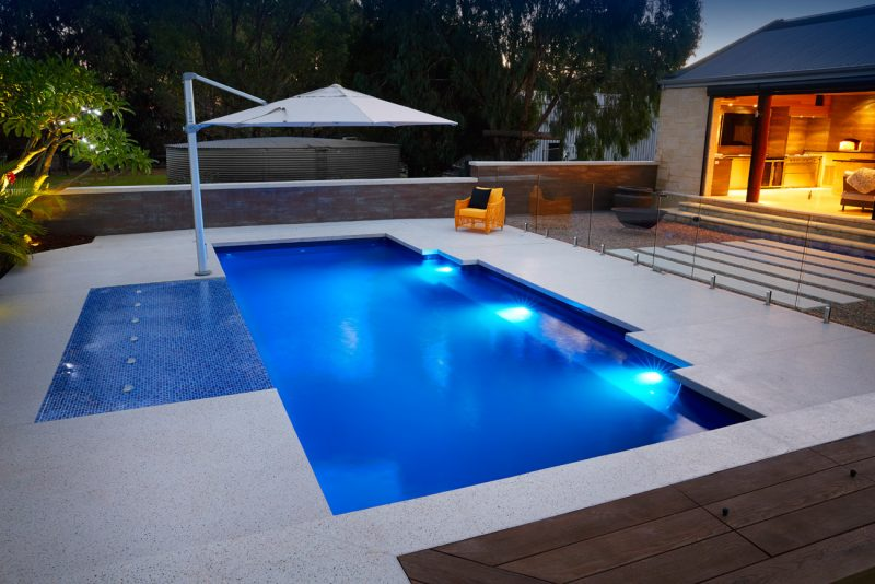 Concrete vs fibreglass pools for your home pivot homes Fibreglass pools vs concrete pools