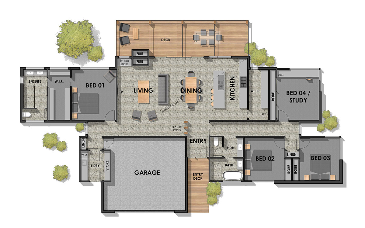 Inverleigh 24 Floor Plan