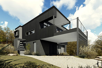 Sloping Block Designs | Pivot Homes