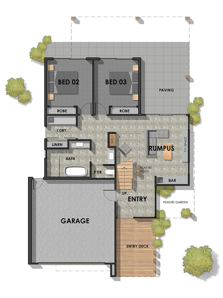 Mount Duneed 32 Display Home Ground Floor Plan