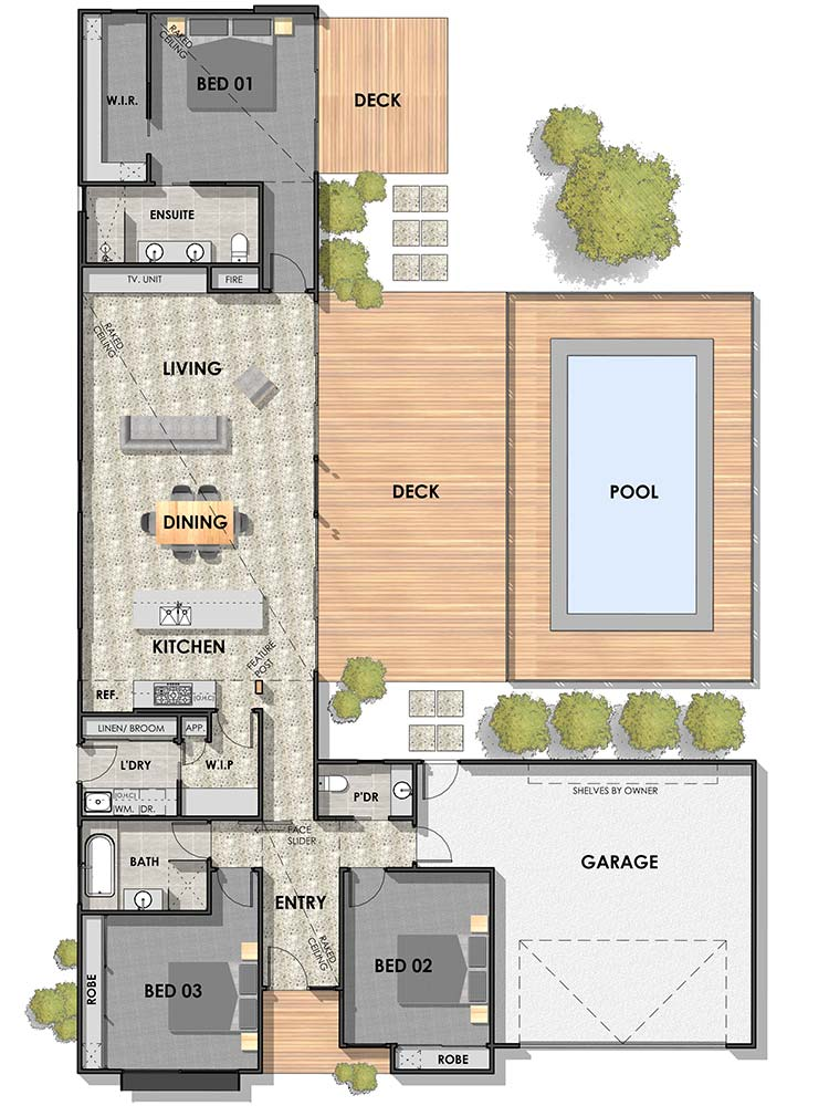 Armstrong Creek 25 Floor Plan REV1