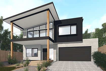 Bellbrae 30 Double Storey Home Design