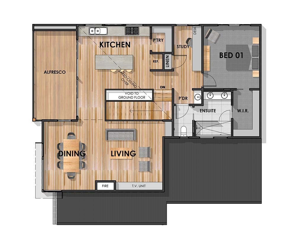 Bellbrae 30 First Floor Plan