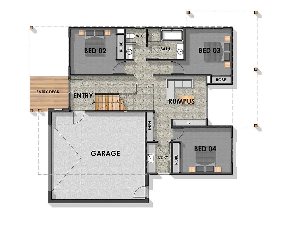 Bellbrae 30 Ground Floor Plan