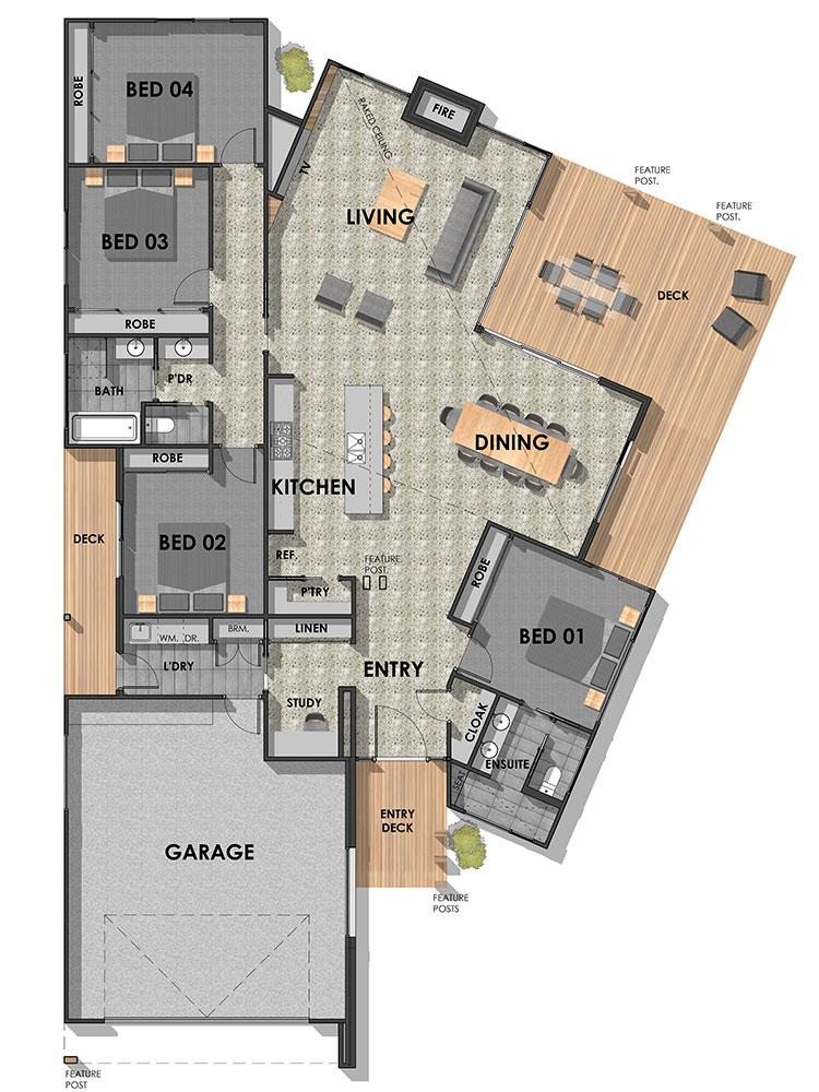 Connewarre 29 (Cobbett) Ground Floor Plan