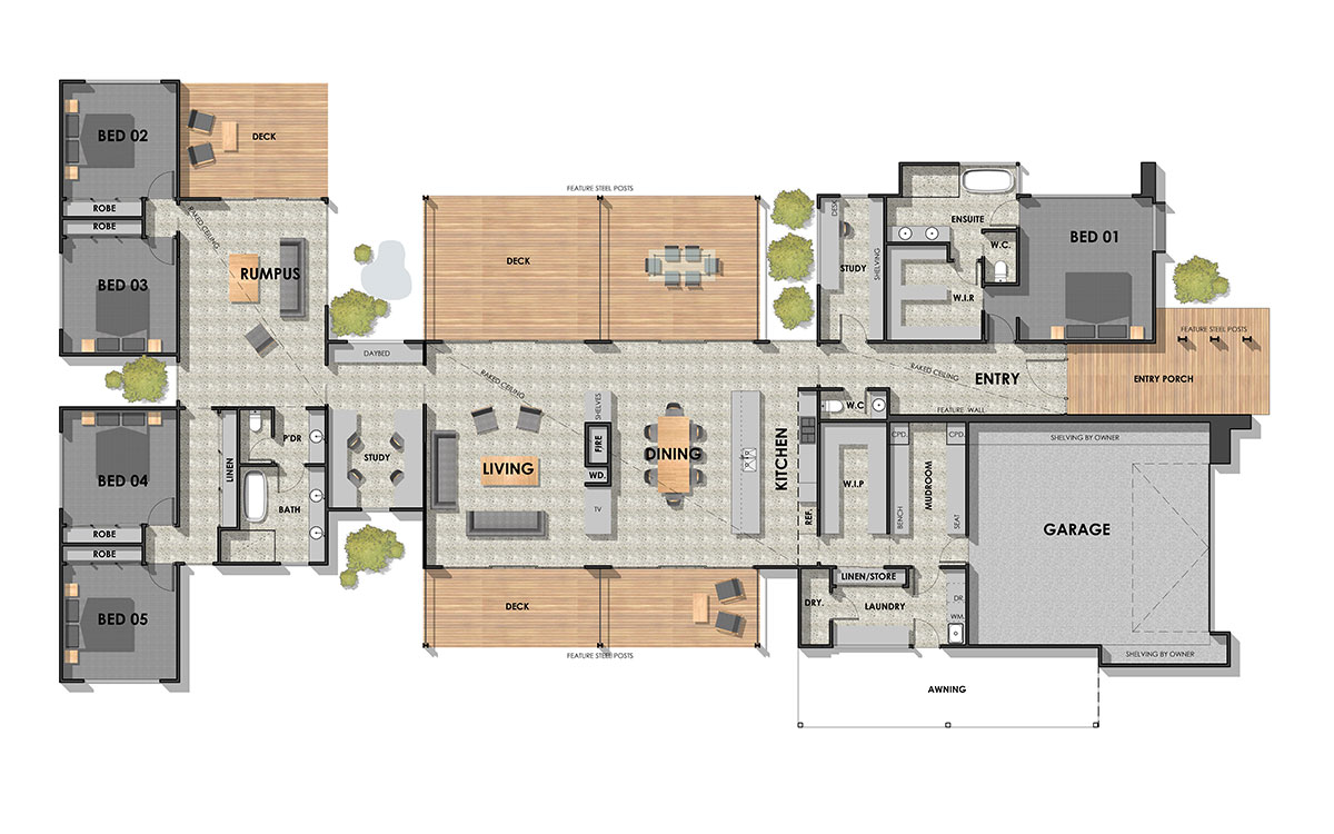 Gisborne 50 Floor Plan