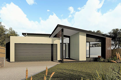 Sloping block designs pivot homes for Pole home designs nsw