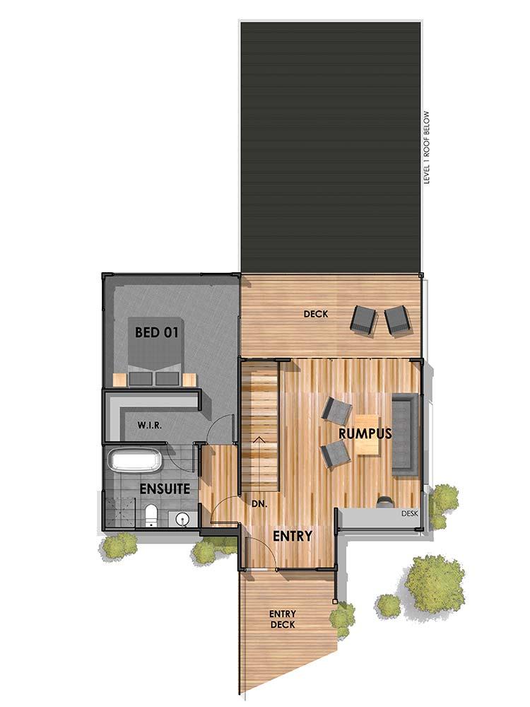 Separation Creek 24 First Floor Plan