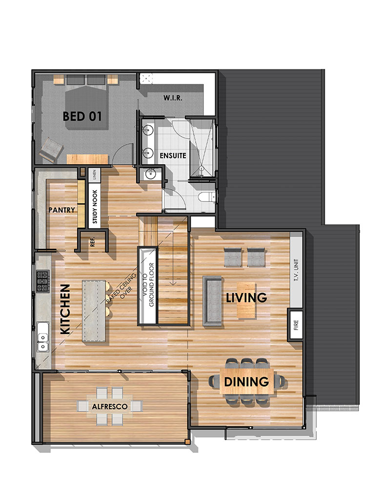 Surfcoast 32 First Floor Plan