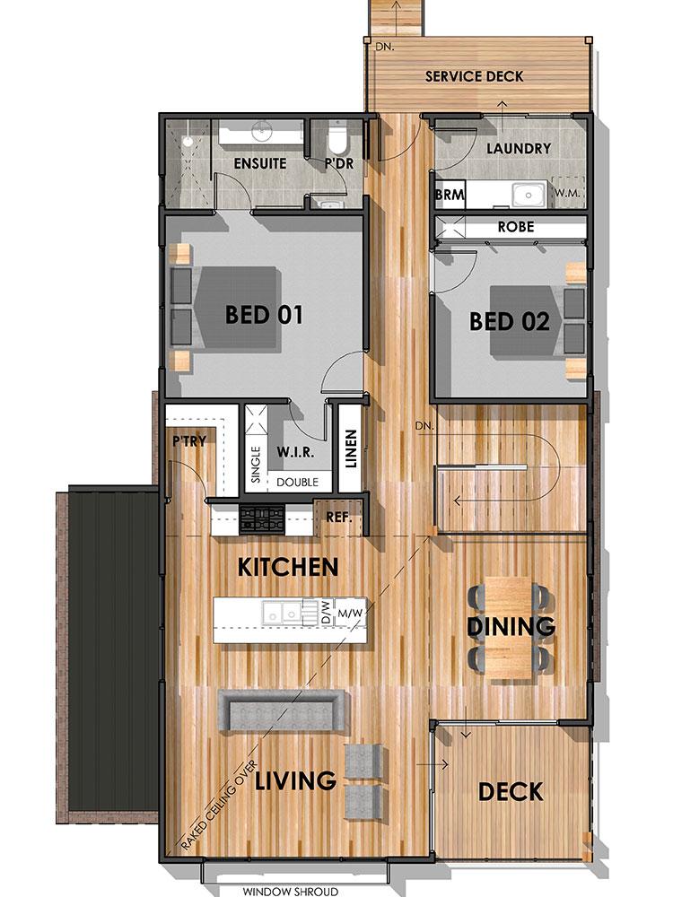 The Barrabool 22 Home Design First Floor Plan