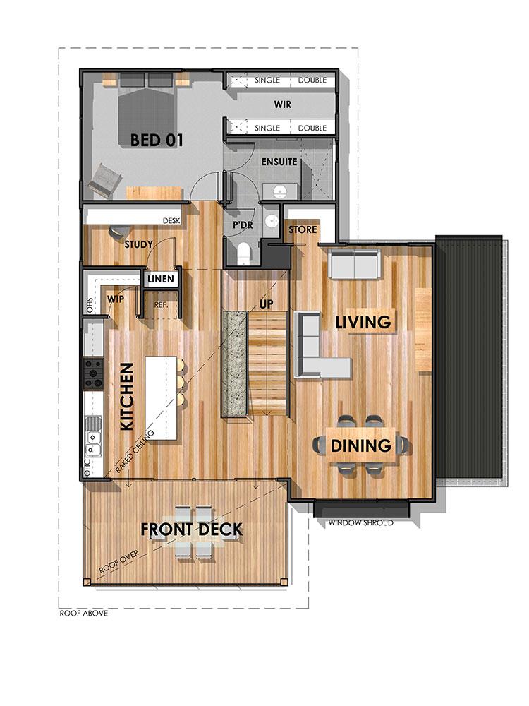 The Bellbrae 26 Home Design First Floor Plan