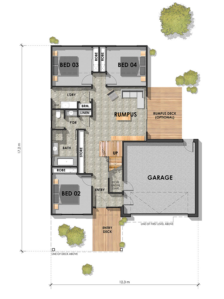 Bellbrae 30 Ground Floor Plan