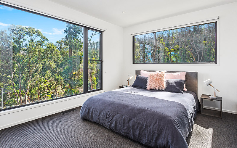 Custom Home with Carpet Flooring
