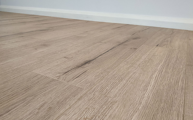 Laminate Timber Flooring with Grain & Texture