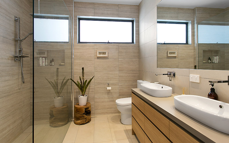 Tiled Flooring and Walls - Ocean Grove Project