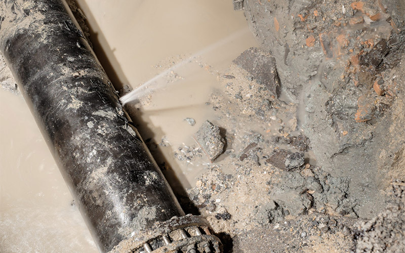 Stormwater Pipes Leakage House Slab Damage