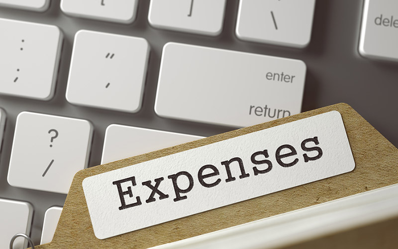 Expenses included in demolish and rebuild