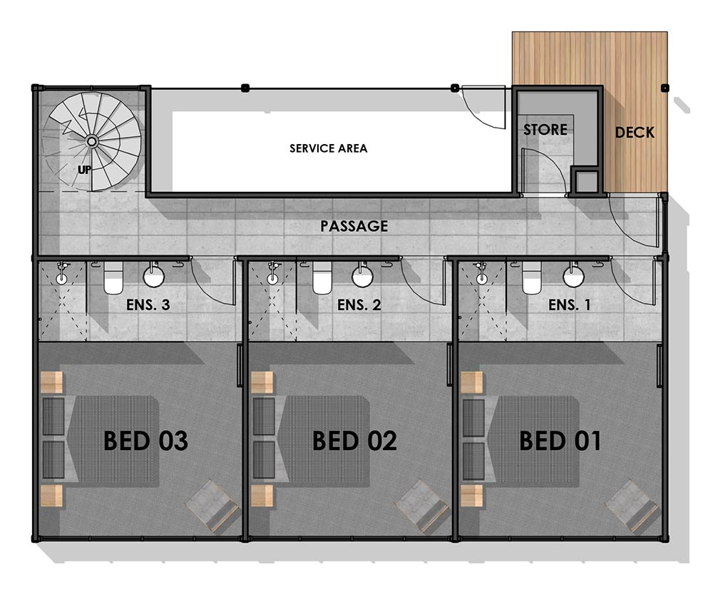 Separation Creek Ground Floor Plan