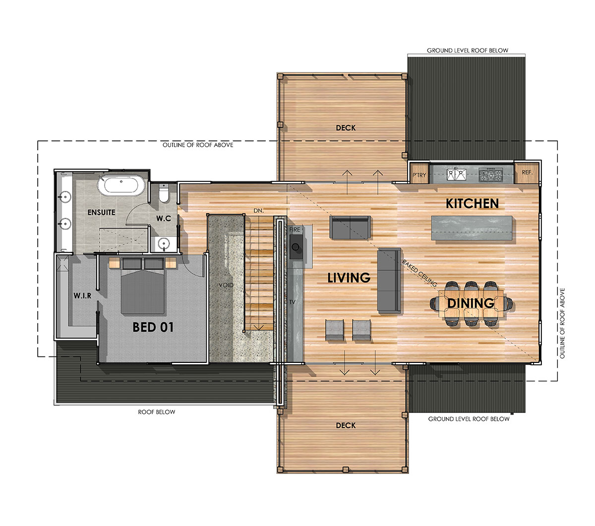 AIREYS INLET 36 FIRST FLOOR PLAN