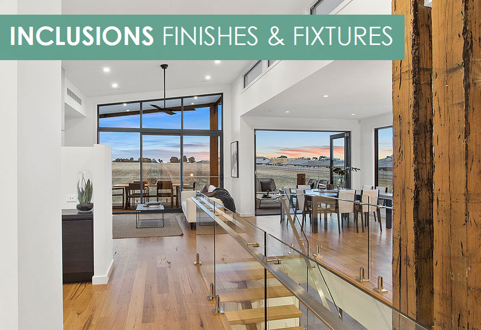 Comparing Builders Inclusions Lists - Pivot Homes Geelong